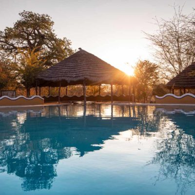 20Planet Baobab - Swimming pool at sunrise