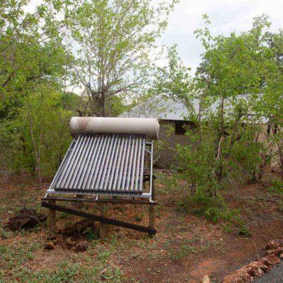 Chobe elephant camp solar