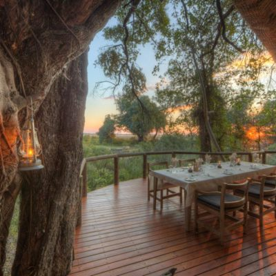 Camp Moremi - Dining Deck(2)