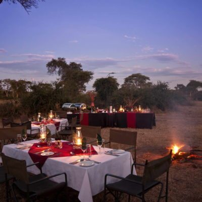 Elephant Valley Lodge Boma Dinner 2