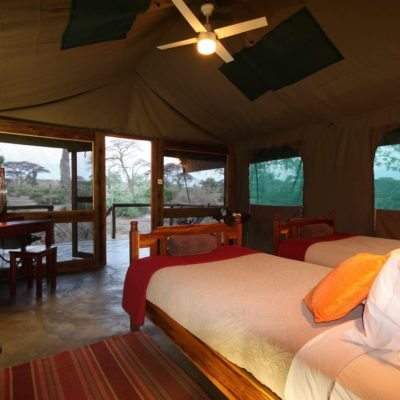 Elephant Valley Lodge Luxury Tent 3