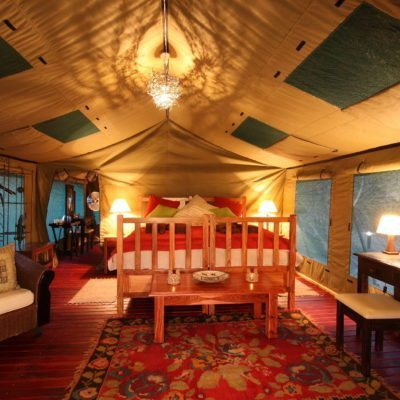 Elephant Valley Lodge Luxury Tent