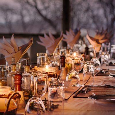 Goha Hills - dining