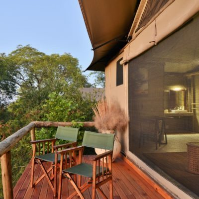 Goha Hills - room deck