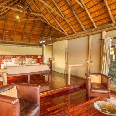 Kwando Lagoon room interior