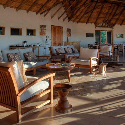 Kwando Nxai Pan lounge 2