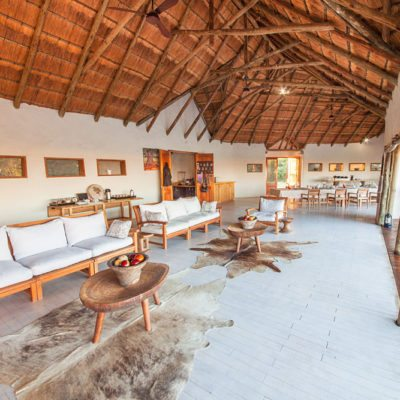 Kwando Nxai Pan lounge