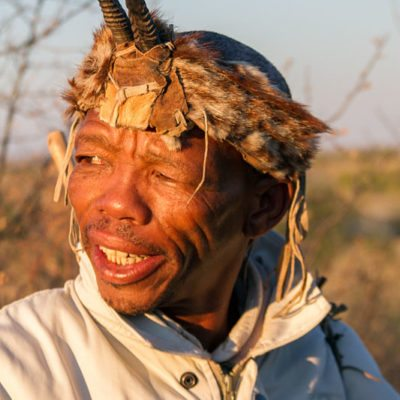 Kwando Tau Pan bushman nature walk