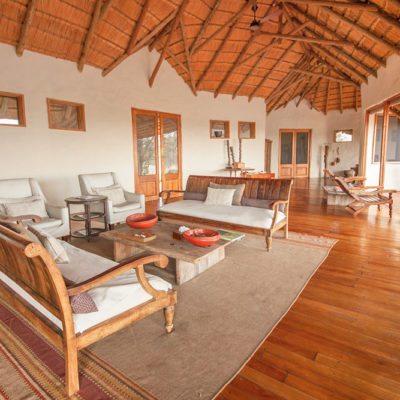 Kwando Tau Pan lounge area
