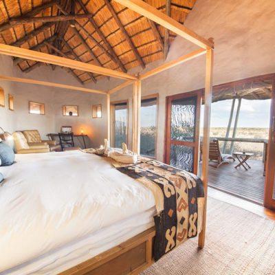 Kwando Tau Pan view from room