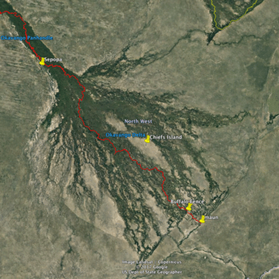 Okavango TO Map