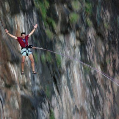 VF- activities - gorge swing