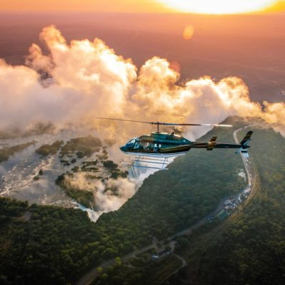 Vic Falls Activities - helicopter