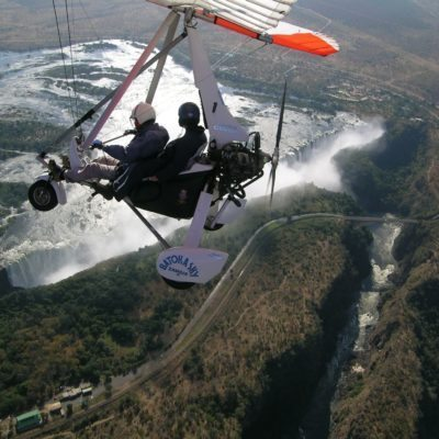 Vic Falls activities - microlight