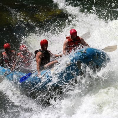 Vic Falls activities - water rafting