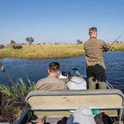 fishing and game viewing combined