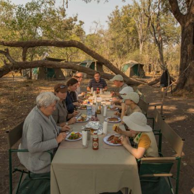 Dining in Camp