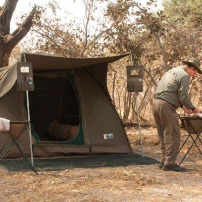 Semi Lux tent
