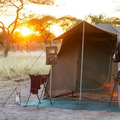 luxury camping Okavango