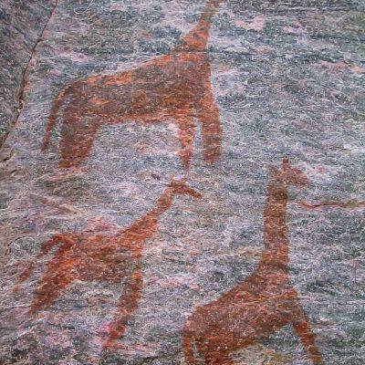 Nxamaseri Tsodilo painting