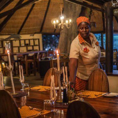 Nxamaseri main area dining table