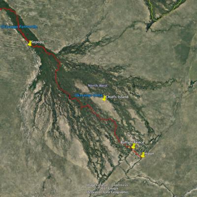 Okavango TO Map